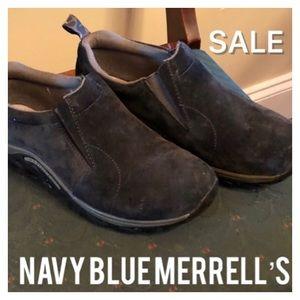 🔴SALE🔴Navy Blue Merrell's-see description